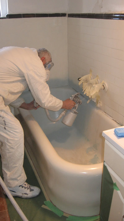 BATH TUB REGLAZING